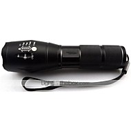 Cree XM-L T6 LED 2000 Lumens Zoomable Flashlight Torch Powered by AAA or 18650 Battery