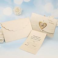 Personalized Tri-Fold Wedding Invitations Invitation Cards-50 Piece/Set Pearl Paper