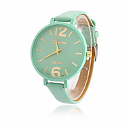 Women's Casual Fashion Quartz Watch Thin Leather Band Wrist Watch