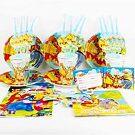 Winnie the Pooh 92pcs festa de aniversário decorações miúdos evnent fontes do partido decoração do partido 12 pessoas usam