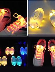 Light Up Shoe Laces Glow Stick LED Shoes Shoelaces Dark Wedding Party DISCO (Assorted Color)