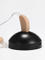 Digital Rechargeable Hearing Aids Aid Sound Voice Amplifier Enhancement Deaf Aid EU Adapter