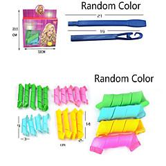18pcs Maglc Leverag Hair Curlers Curlformers