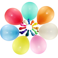 Large Size Thick Pearlized Round Balloons 100Pcs