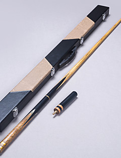 3/4 Jointed Handmade ash snooker/Pool Cue LP ebony billiard cue+Cue Case