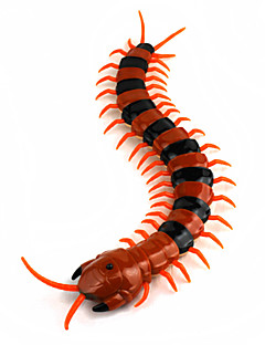 Lifelike Orange Black Millipede Remote Control Toys