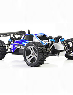 Buggy WLToys A959 1:18 Brush Electric RC Car 45KM/H 2.4G Blue / Red Ready-To-GoRemote Control Car / Remote Controller/Transmitter /