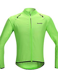SANTIC Cycling Jacket Women's Men's Unisex Long Sleeve Bike Waterproof Quick Dry Windproof Rain-Proof Sunscreen Ultra Light FabricJacket