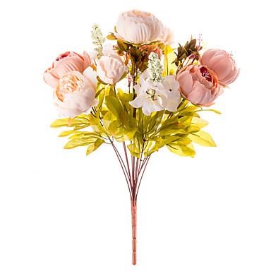 1 branch silk peonies tabletop flower artificial flowers 50 x 30 x 1 branch silk peonies mightylinksfo